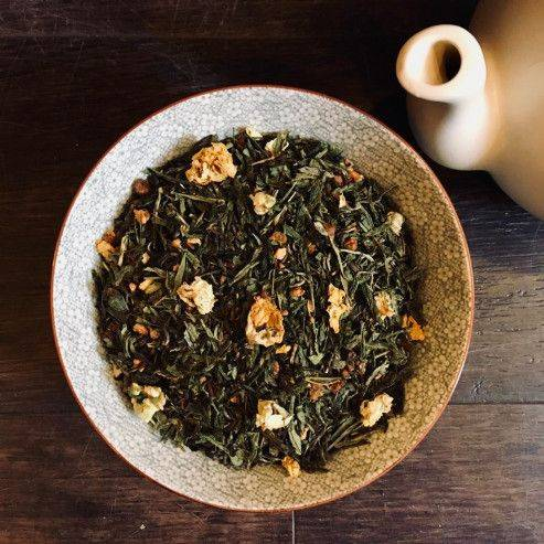 Sweet peaches - Green Tea