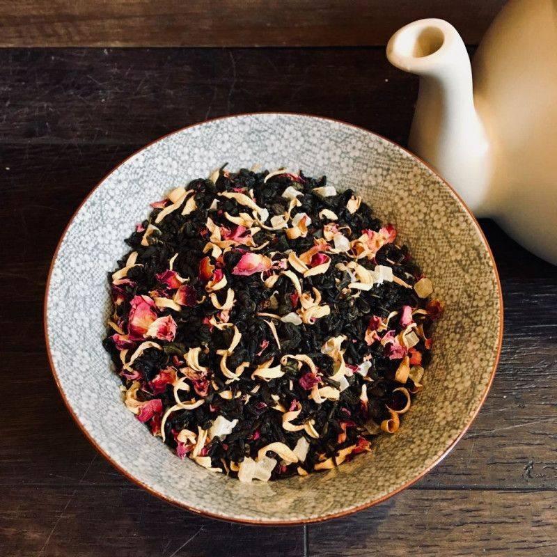 Passion fruit Mango - Green Tea
