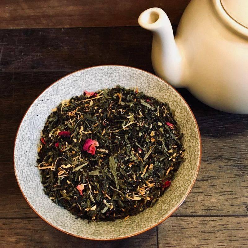 Strawberry Rhubarb - Green Tea