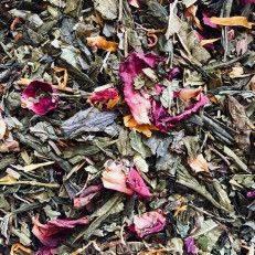 Rosalinde thee (groene thee met rozen) - Groene Thee