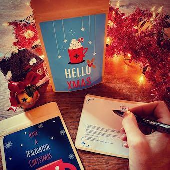T-Mail, tea in a postcard!