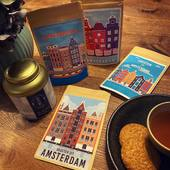 Why don't you send T-mail instead of E-mail? Now is Amsterdam theme!  T-mail is our new collection of postcards filled with tea! An original way to surprise someone or to let them know you are thinking of them.   Now available in store or through our website (link in bio). If you order via our website, you can also personalize the card. This means that you can have a message put on it and that we will send it for you!   T-mail: - a sealed envelope designed as a postcard - filled with loose tea and a filter bag - 8 grams of tea, enough for 4 cups or 1 pot - with a personal message on your behalf - resealable envelope to keep the tea fresh!   #T-mail #teamail #sendingtea #sendinglove #teafromamsterdam #fromamsterdamwithlove #teashopamsterdam #postcards #snailmail #snailmailideas #postcardsfromamsterdam #tea #tealovers #ilovetea #myteaandme #thesmallesthouseinamsterdam #looseleaftea #topshelftea #kooplokaalamsterdam #theewinkelamsterdam #supportlocal #expatsinamsterdam #teaboutique #oudehoogstraat22 #amsterdam
