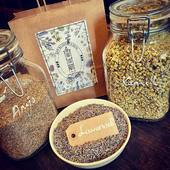 Did you know we also stock a lovely collection of herbs and spices? Everything you need to customize your tea and make your own blend! Lavender, camomile, anise, mint and verbena to name a few.  As you can see I used lavender for the picture. The scent that filled the room as I opened the jar... delicious! 💜 Curious to know more? The link in our bio will take you to our website.   #herbs #spices #herbaltea #herballife #tea #ilovetea #healthyliving #healthylifestyle #veganfood #vegan #veganlifestyle #teatime #myteaandme #teashop #thesmallesthouseinamsterdam #teashopamsterdam #teashop